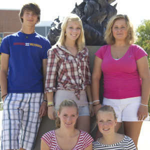 Exchange students from Eutin, Germany