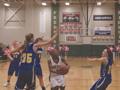 Taking Flight: Firebirds Girls Varsity Basketball Team Break Record