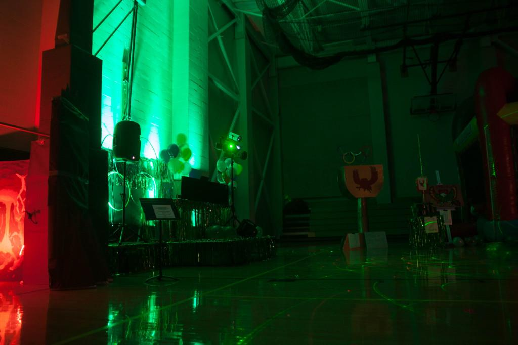 A live DJ, bouncy houses and door prizes are a few Homecoming dance features.