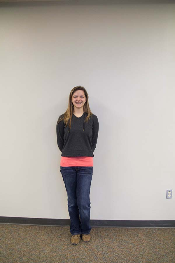 Sophomore Raegan Koenig feels that she fits in with Lawrences culture.