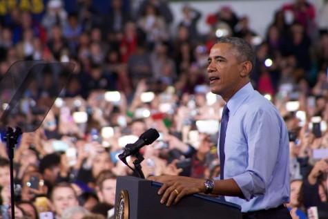 #BarackChalk: President Obama speaks at Anschutz Sports Pavilion