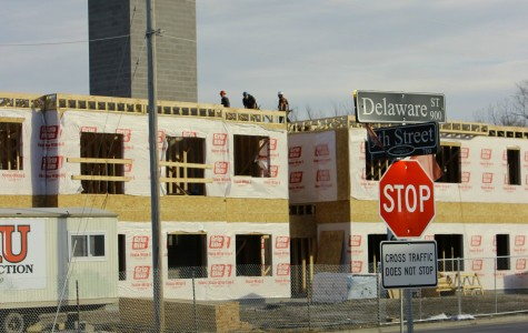 Lawrence Cultural Arts District construction continues