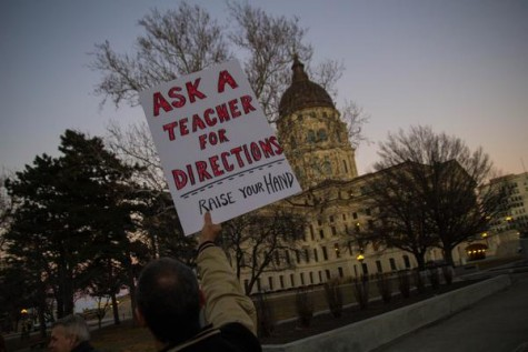 Brownback's order sparks discord, protest follows