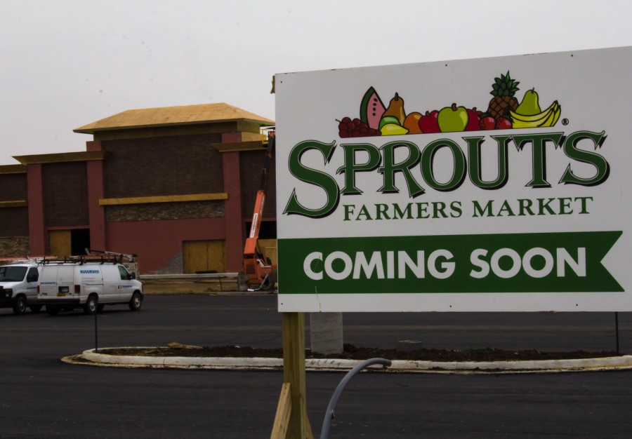 Sprout%27s+Farmers+Market+is+an+organic+grocery+store+under+construction+across+from+Free+State.+%22We+believe+everyone+deserves+access+to+healthy+choices+and+we+aim+to+inspire+healthy+living+for+all%22%2C+says+Victoria+Fernandez%2C+a+Sprout%27s+Public+Relations+Representative.+The+store+will+have+it%27s+opening+on+July+1st+at+seven+am.