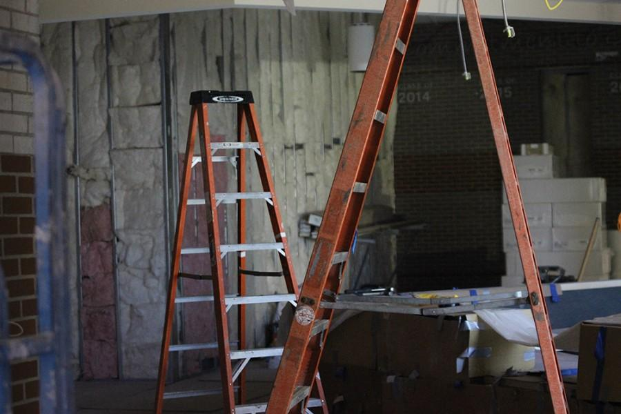 The offices are currently under construction but are planned to be finished by the 2015-2016 school year.