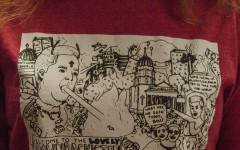 Peyton Townsend's sketch turns into a stand against Brownback's policies