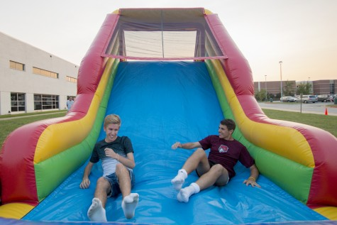 Foreign exchange students adjust to life in another country