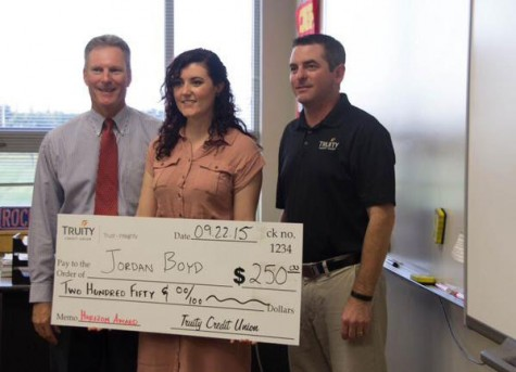 Social Studies teacher Jordan Boyd wins the Horizon Award