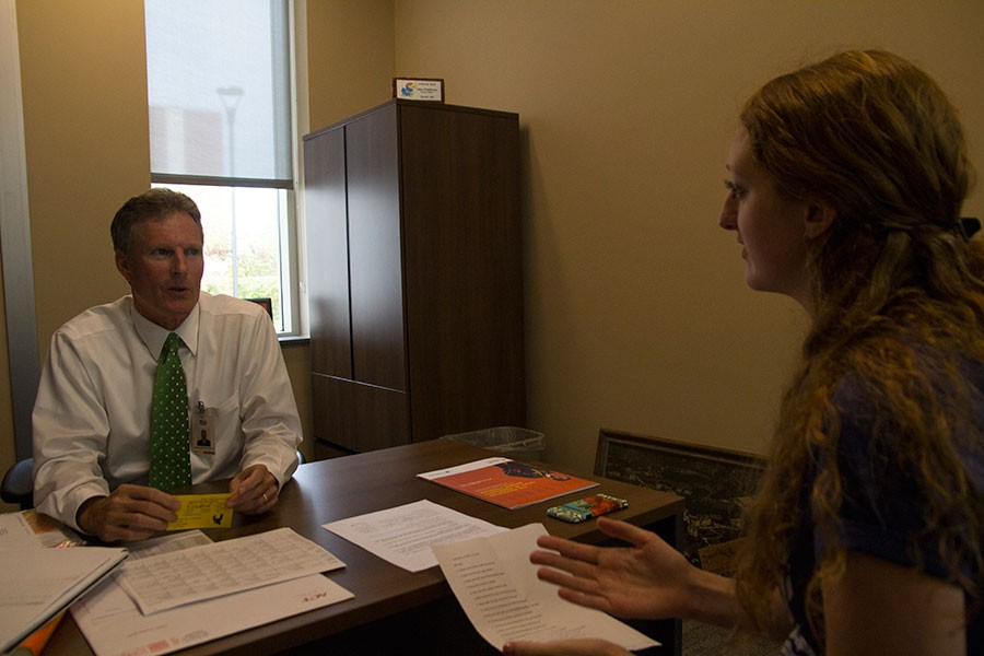 New principal, Myron Graber, talks to editor, Trenna Soderling, about Free State. I love this school, it is a very unique environment, I really enjoy being here, Graber said.