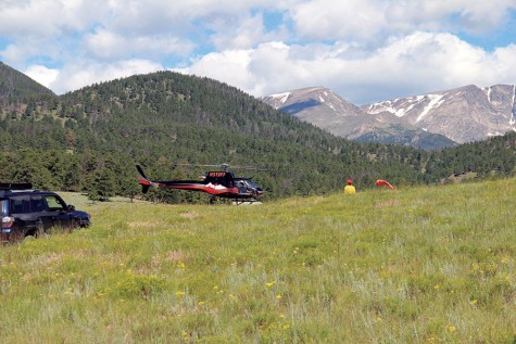 Helicopter rescues librarian after two nights in Colorado mountains