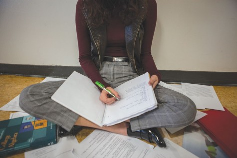 Middle of school year affects students in different ways