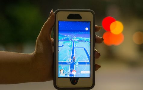 """Pokemon GO players plan trips downtown to catch pocket monsters and battle other trainers. """"There were groups of fifty people at each intersection at 3 a.m. after the bars let out,"""