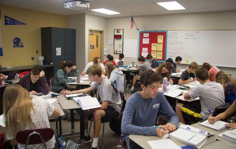 Higher enrollment pressures counselors, teachers