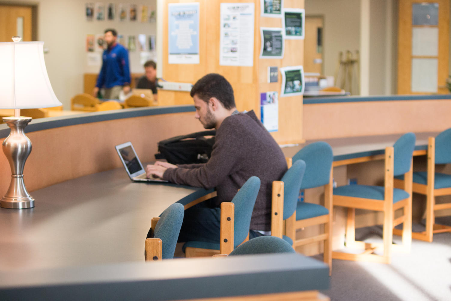 After school, students use the library for a quiet place to study, but with the proposed construction plan this could change. The proposal suggests to change the name to Learning Commons.