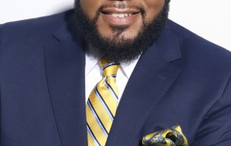 A photo of Dr. Anthony Lewis included with the district press release.