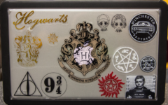 Photo Gallery: How students decorate their laptops