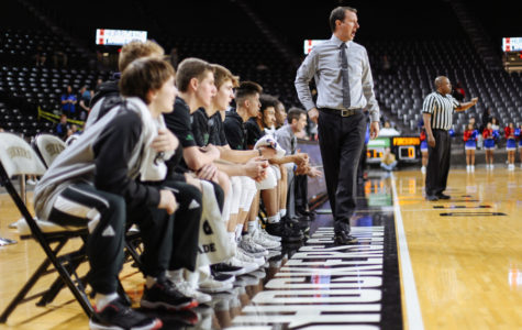 Photo Gallery: Boys basketball versus Wichita South in Koch Arena