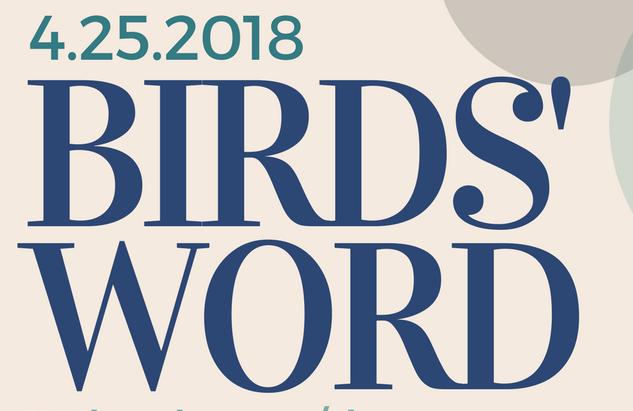Birds' Word, April 25