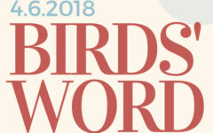 Birds' Word, April 6