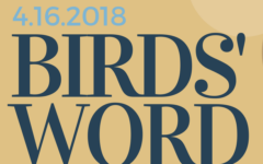 Birds' Word, April 16