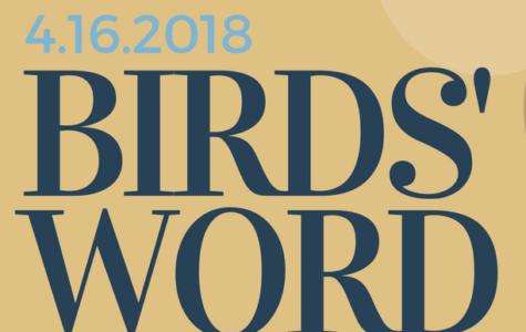 Birds' Word, April 16