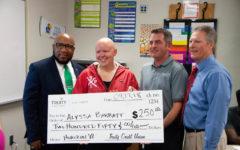 Math teacher Alyssa Barratt receives district level Horizon Award