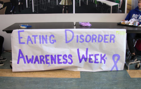 Student Council brings awareness to eating disorders within the school