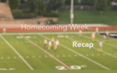 Homecoming Week Recap 2019