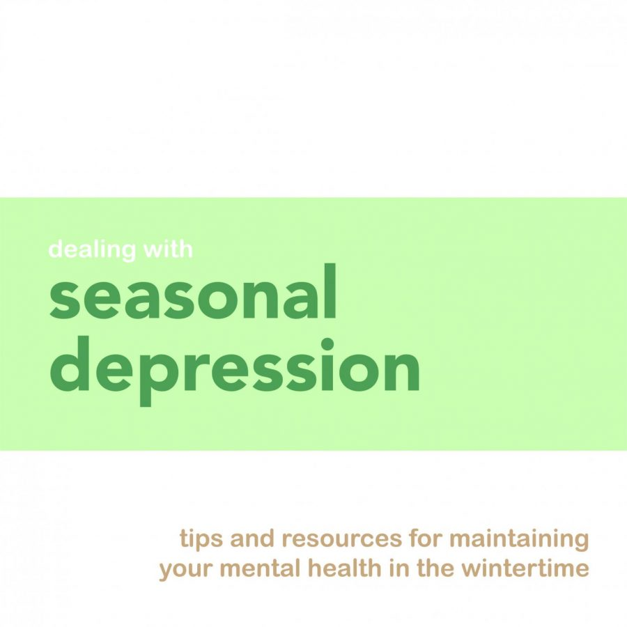 Dealing with seasonal depression